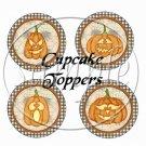 Creepy Crawlers Halloween ~  Cupcake Pick & Toppers ~ Set of 1 Dozen