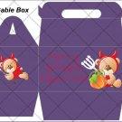Purple Devilish ~ Gable Gift or Snack Box