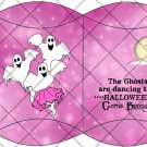 Boogie Ghost Starry Night Lavender ~ Pillow Box