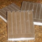 Solid Brown ~ Mini Nail Files