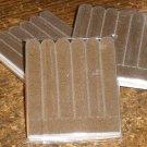 Solid Brown ~ Mini Nail Files