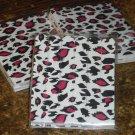 Red & Black Cheeta - Ocealot  ~ Mini Nail Files