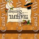 Give Thanks #1 Thanksgiving ~ MINI Matchbook Nail File COVER