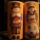 Pilgrim Thanksgiving ~ Salt & Pepper Shaker Wrappers