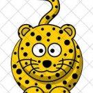Leopard Full Body  ~ Cupcake Pick & Toppers ~ Set of 1 Dozen