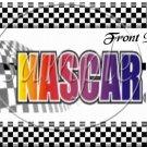 Faux NASCAR Logo ~ Pint Glass Jar
