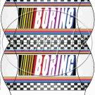 Faux NASCAR Boring ~ Pillow Box