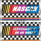 Faux NASCAR  ~ Standard 1.55 oz Candy Bar Wrapper  SOE