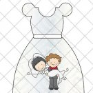 Wedding Party Favor Dress ~ Party Favor Totes, Bags & Boxes