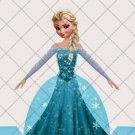 Faux Frozen Elsa Party Favor Dress  ~ Party Favor Totes, Bags & Boxes