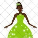 Tiana Party Favor Dress #2  ~ Party Favor Totes, Bags & Boxes