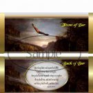 Wait Upon the Lord ..... ~ Standard 1.55 oz Candy Bar Wrapper  SOE