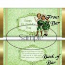 Happy St. Patrick's Day  ~ Standard 1.55 oz Candy Bar Wrapper  SOE