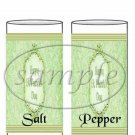 Happy St. Patrick's Day  ~ Salt & Pepper Shaker Wrappers