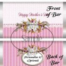 Cherry Blossoms Mother's Day  ~ Standard 1.55 oz Candy Bar Wrapper  SOE