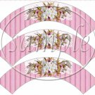 Cherry Blossoms Mother's Day ~  Cupcake Wrappers ~ Set of 1 Dozen