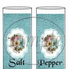 Touch of Blue  ~ Salt & Pepper Shaker Wrappers