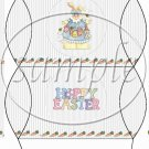Hoppy Easter Country Bunny Girl ~ Pillow Box