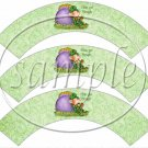Happy St. Patrick's Day Leprechaun ~  Cupcake Wrappers ~ Set of 1 Dozen