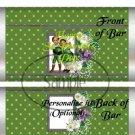 Vintage St. Patrick's Day  ~ Standard 1.55 oz Candy Bar Wrapper  SOE