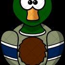 Mallard Duck ~  Cupcake Pick & Toppers ~ Set of 1 Dozen