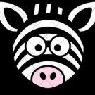 Zebra Head ~  Cupcake Pick & Toppers ~ Set of 1 Dozen