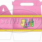Jesus is Love Pink ~ Gable Gift or Snack Box