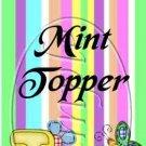Jesus Is Love Pastel Stripe ~ Mini Mint Toppers & Mints   (50 ct)