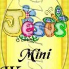 Jesus Is Love Yellow  ~ MINI Candy Bar Wrappers