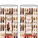 Friends With Chocolate ~ Salt & Pepper Shaker Wrappers
