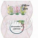 Summer Wild Flowers  ~ Pillow Box