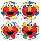 Elmo Polka Dot ~  Cupcake Pick & Toppers ~ Set of 1 Dozen