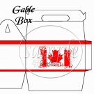God Bless Canada #1 ~ Gable Gift or Snack Box