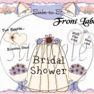 Bride To Be ~ Gallon Can Set