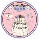 Bride To Be  ~  Cupcake Pick & Toppers ~ Set of 1 Dozen