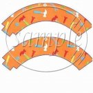 Construction Tools ~ Cupcake Wrappers ~ Set of 1 Dozen