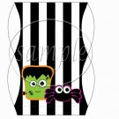 Frankenstien & Spider  ~ Pillow Treat Gift Box