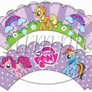 My Pony ~ Faux or Inspired By ~ Cupcake Wrappers ~ Set of 1 Dozen