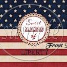 Sweet Land of Liberty ~ Gallon Can Set