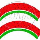 Watermelon ~ Cupcake Wrappers ~ Set of 1 Dozen