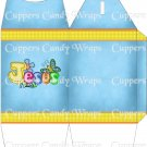 Jesus is Love Blue ~ TALL Gable Gift or Snack Box