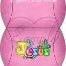 Jesus is Love Pink ~ Pillow Treat Gift Box