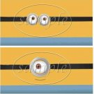 Minion ~ Faux or Inspired By ~ MINI Candy Bar Wrappers