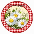 All About Daisies ~ Cupcake Toppers ~ Set of 1 Dozen