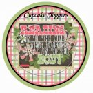 Reading Is To The Mind.....Beige ~ Cupcake Toppers ~ Set of 1 Dozen