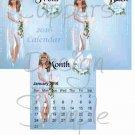 Faires ~ 12 Month CD Case Calendar 2017