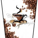 Coffee Beans ~  Gift Card Holder Latte` Cup