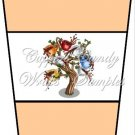 Coffee Tree Peach ~  Gift Card Holder Latte` Cup