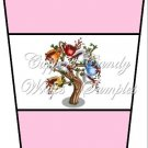 Coffee Tree Pink ~  Gift Card Holder Latte` Cup