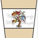 Coffee Tree Tan ~  Gift Card Holder Latte` Cup